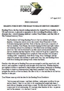 roadshow press release