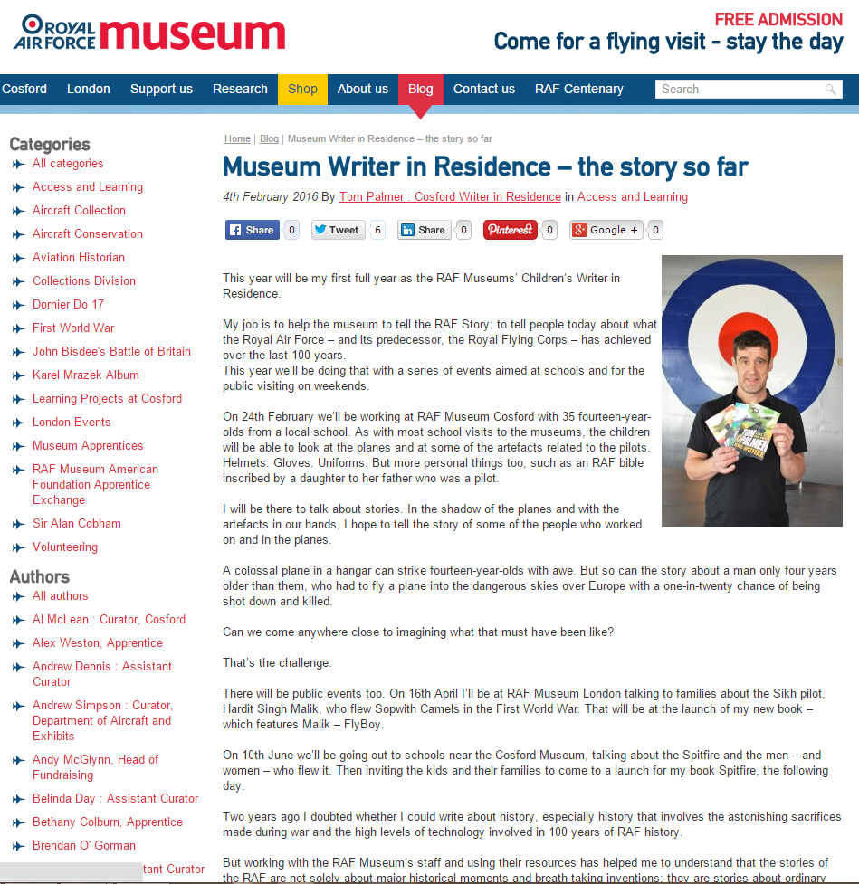 raf blog